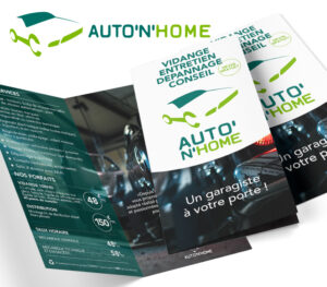 Auto'n'home | Flyer double 100x200