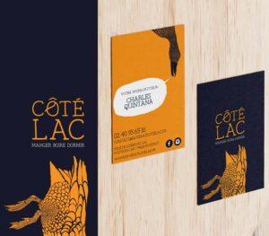Coté Lac | carte de visite