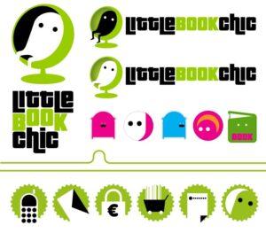 Littlebookchic | logo, stickers & pictos site internet