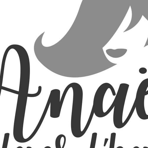 Anaëlle dans l'air | logo & carte de visite